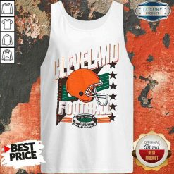 Funny Cleveland Browns Football America Stars Tank Top-Design By Soyatees.com
