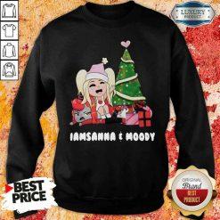Funny Iamsanna E Moody Sweatshirt-Design By Soyatees.com
