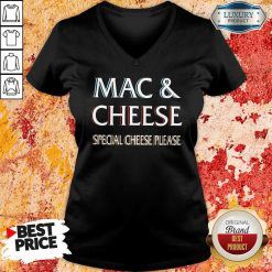 Mac And Cheese Special Cheese Please V-neck-Design By Soyatees.com