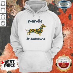 Funny Mamae De Dachshund Hoodie-Design By Soyatees.com