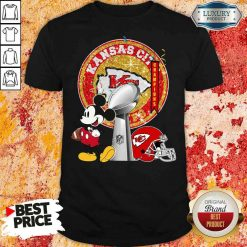 Funny Mickey Mouse Kansas City Chiefs Champions Shirt-Design By Soyatees.com