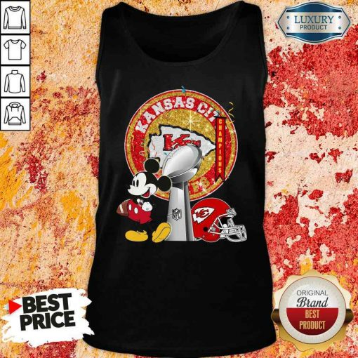 Funny Mickey Mouse Kansas City Chiefs Champions Tank Top-Design By Soyatees.com