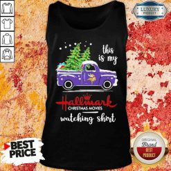 Funny Minnesota Vikings This Is My Hallmark Christmas Movies Watching Tank Top-Design By Soyatees.com