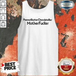 Funny Peanut Butter Chocolate Bar Mother Fucker Tank Top-Design By Soyatees.com