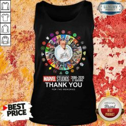 Funny Stan Lee Marvel Studios 2008 2020 31 Seasons Thank You For The Memories Tank Top-Design By Soyatees.com