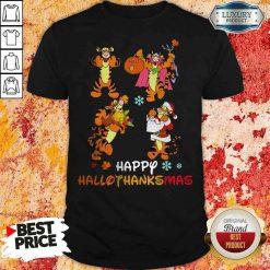 Funny Tiger Happy Hallothanksmas Shirt-Design By Soyatees.com