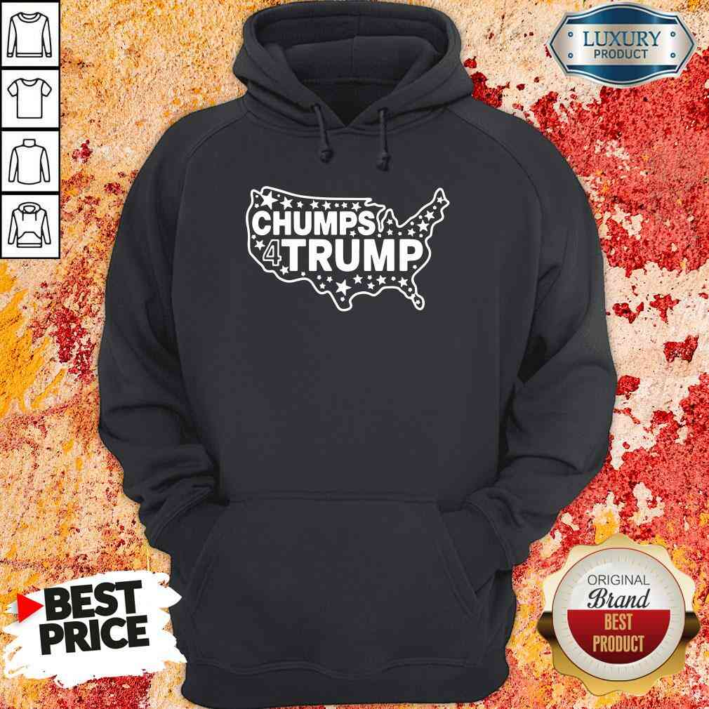 Good Chumps For Trump USA Map 2022 Hoodie-Design By Soyatees.com