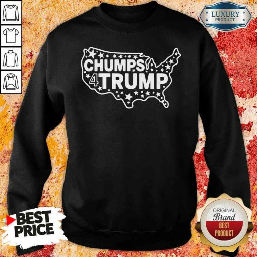 Good Chumps For Trump USA Map 2025 Sweatshirt-Design By Soyatees.com