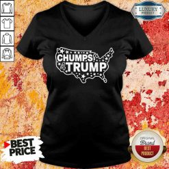 Good Chumps For Trump USA Map 2023 V-neck-Design By Soyatees.com
