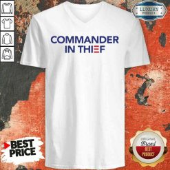 Good Commander In Thief 2020 V-neck-Design By Soyatees.com