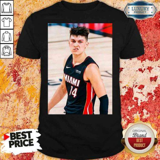 Good Court Culture Tyler Herro Snarl Shirt-Design By Soyatees.com