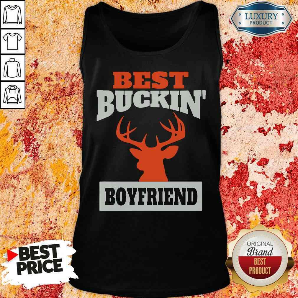 Good Deer Hunting Boyfriend Best Buckin Boyfriend Tank Top-Design By Soyatees.com