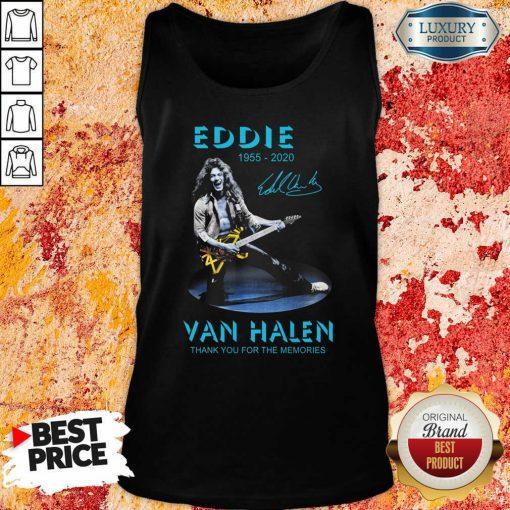 Eddie Van Halen Rock And Roll Tank Top-Design By Soyatees.com