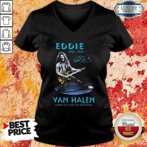 Eddie Van Halen Rock And Roll V-neck-Design By Soyatees.com
