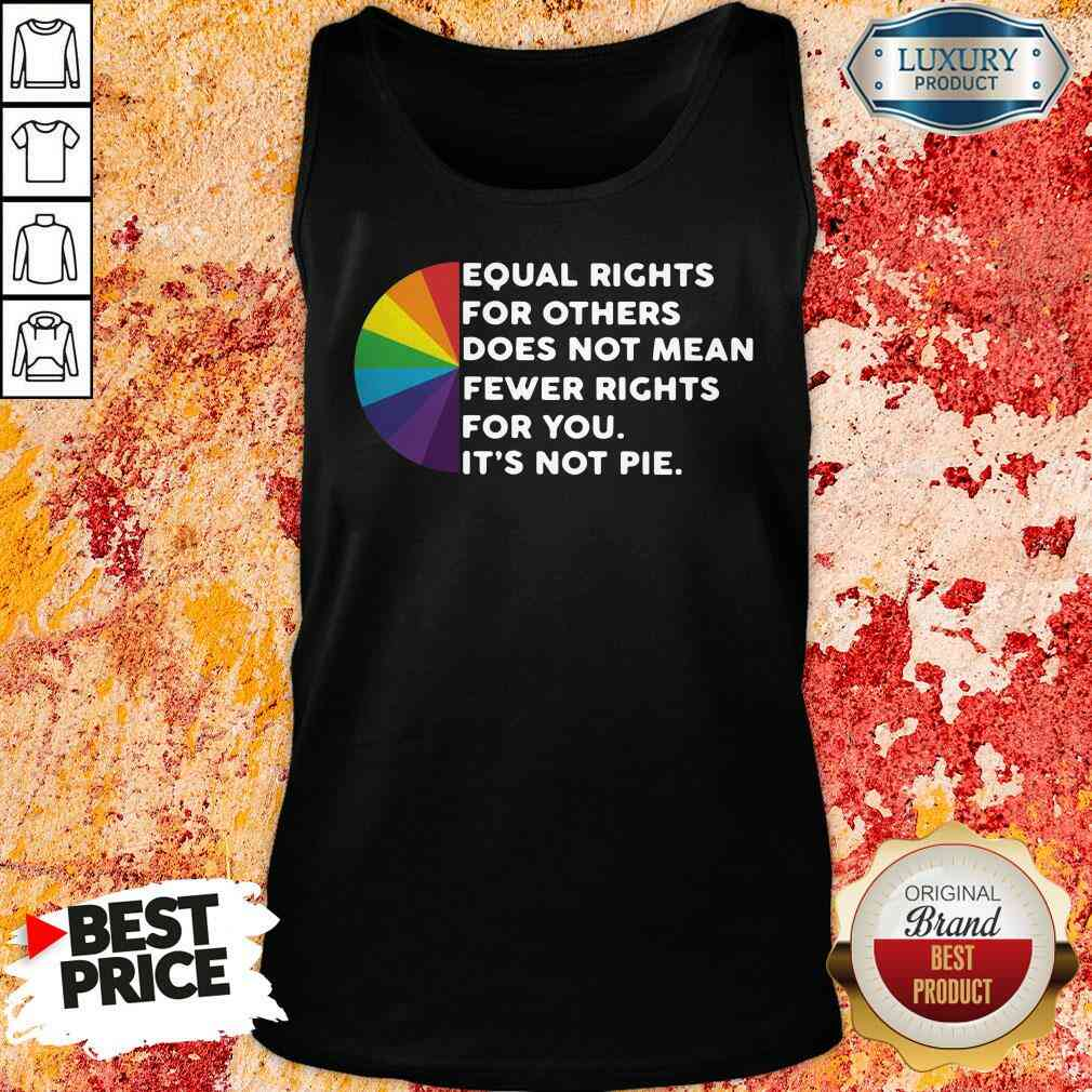 Good Equal Rights For Others Doesn't Mean Less Rights For You Tank Top-Design By Soyatees.com