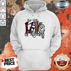 Good For The Love Of Running Hoodie-Design By Soyatees.com