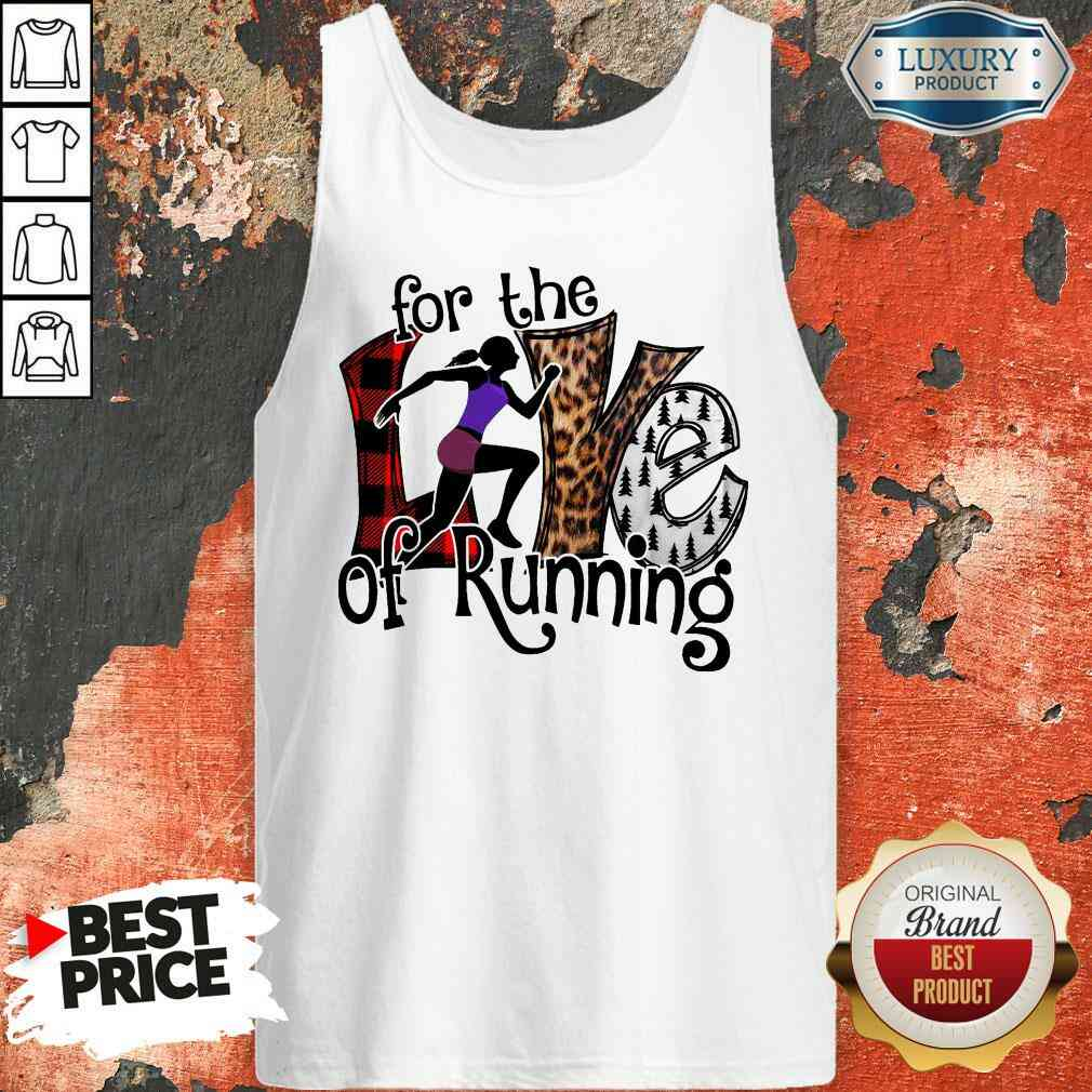Good For The Love Of Running Tank Top-Design By Soyatees.com