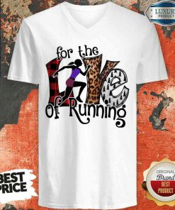 Good For The Love Of Running V-neck-Design By Soyatees.com