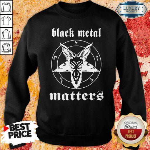 Goat Black Metal Matters Sweatshirt-Design By Soyatees.com