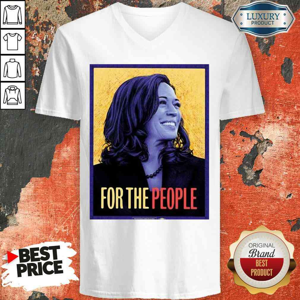 Good Kamala Harris For The People V-neck-Design By Soyatees.com