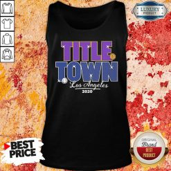 Good Los Angeles Title Town 2022 Tank Top -Design By Soyatees.com
