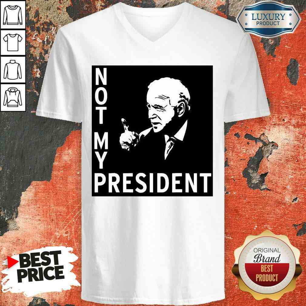 Good Not My President Joe Biden Election V-neck-Design By Soyatees.com