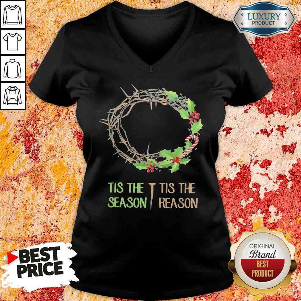 Good Tis The Season V-neck-Design By Soyatees.com