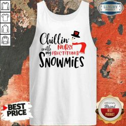 Happy Chillin With My Nurse Practitioner Snowmies Tank Top-Design By Soyatees.com