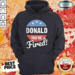 Happy Donald Youre Fired Trump Lost Biden Won 2020 Victory Unisex Hoodie-Design By Soyatees.com