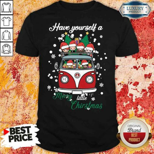 Happy Harry Potter Have Yourself A Merry Little Christmas Shirt-Design By Soyatees.com
