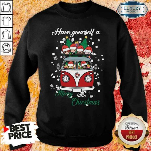 Happy Harry Potter Have Yourself A Merry Little Christmas Sweatshirt-Design By Soyatees.com