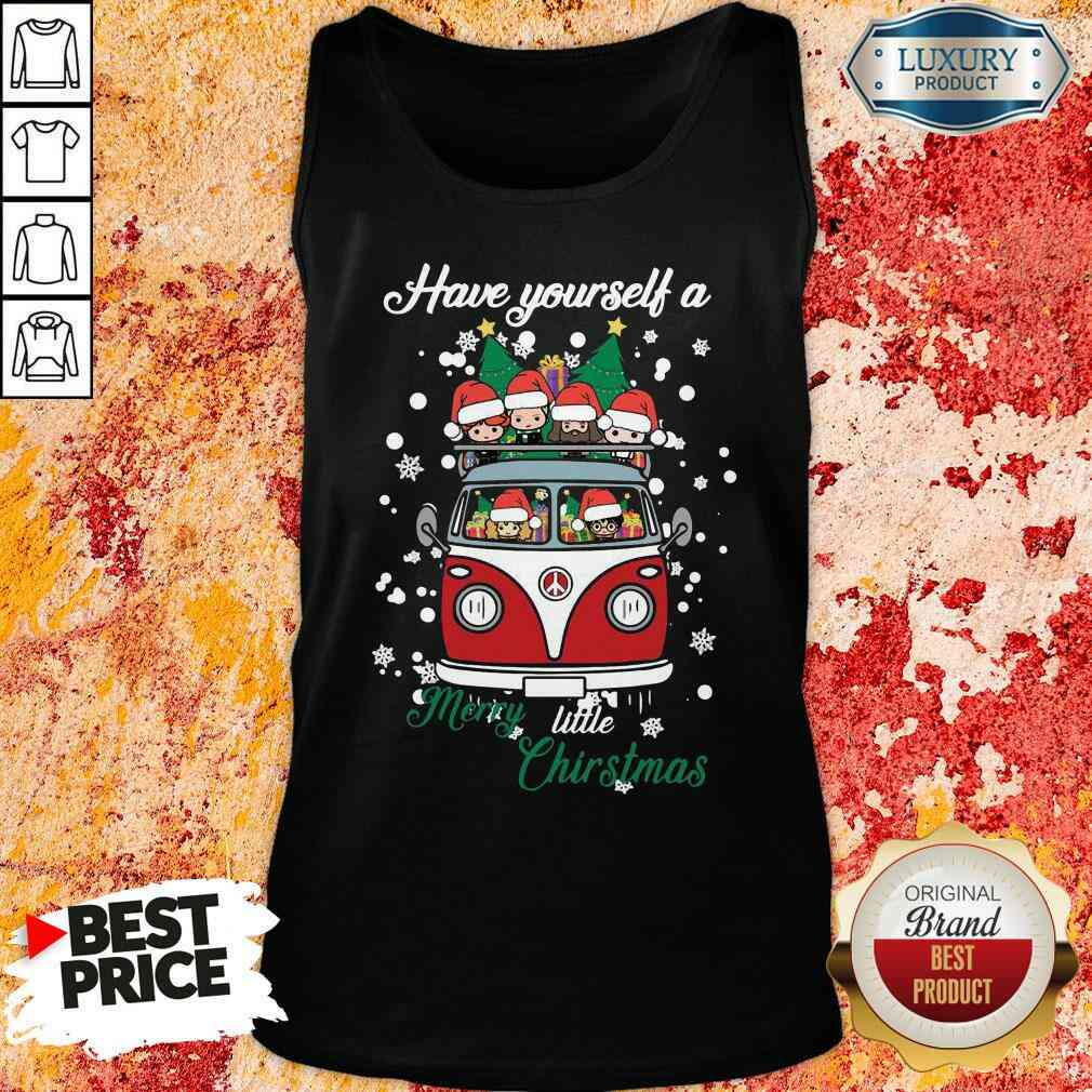 Happy Harry Potter Have Yourself A Merry Little Christmas Tank Top-Design By Soyatees.com