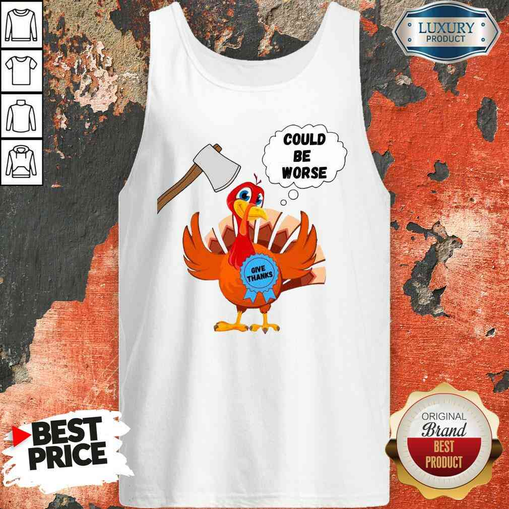Happy Thanksgiving 2020 Give Thanks Turkey Tank Top-Design By Soyatees.com