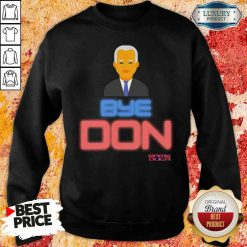 Hop Byedon Trump Joe Biden President Bye Don Sweatshirt-Design By Soyatees.com