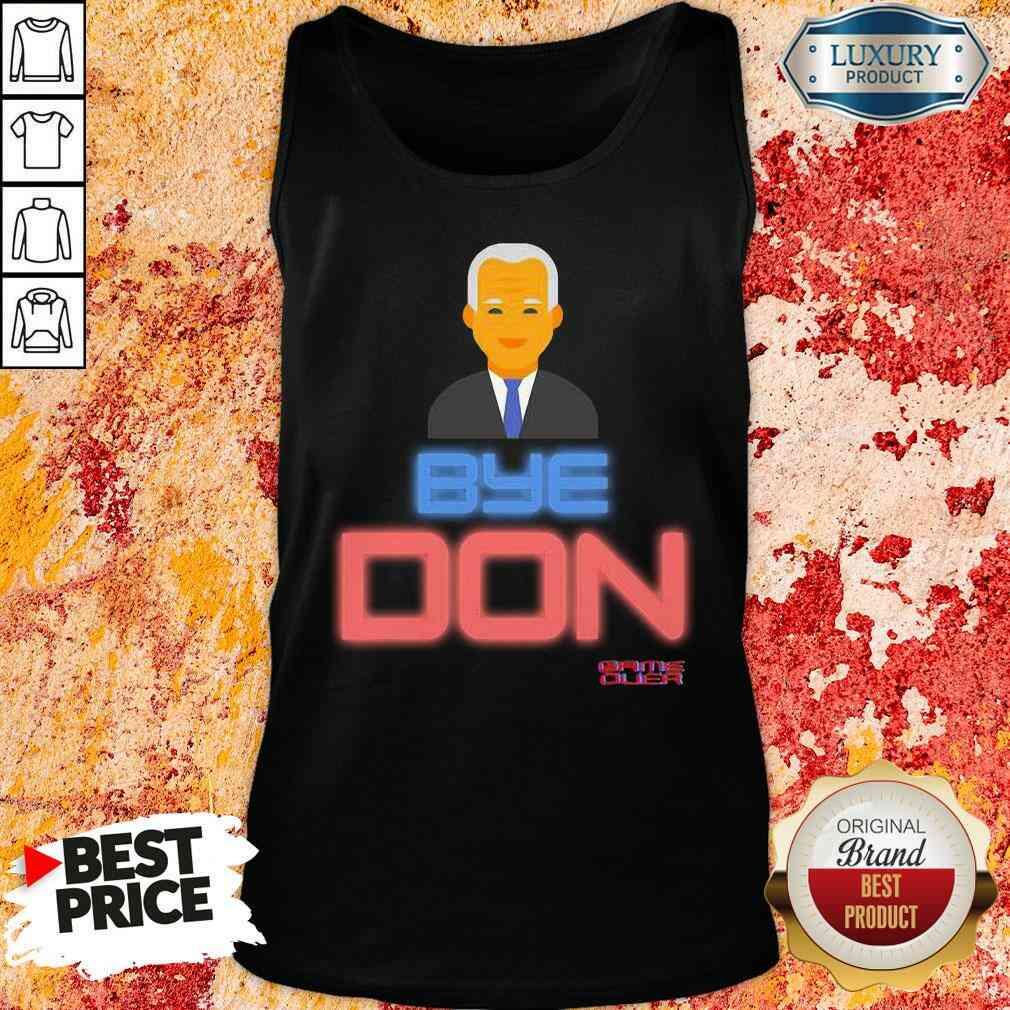 Hop Byedon Trump Joe Biden President Bye Don  Tank Top-Design By Soyatees.com