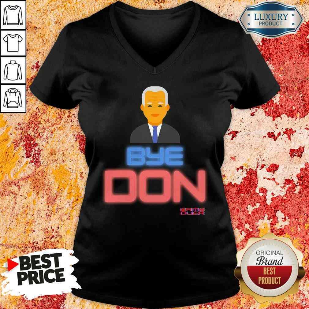 Hop Byedon Trump Joe Biden President Bye Don V-neck-Design By Soyatees.com