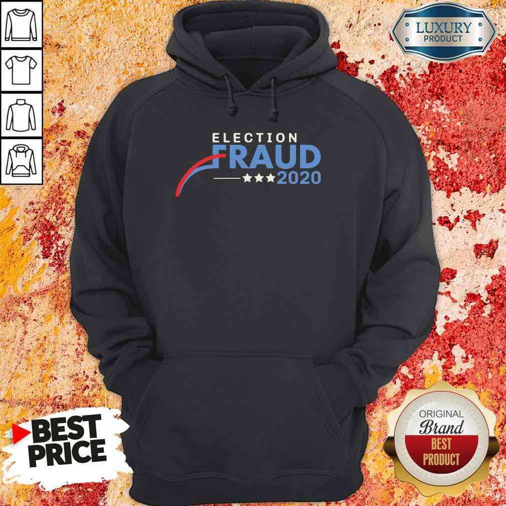Hot Fraud 2020 Trump Biden Election Results Voter Fraud 2020 Hoodie-Design By Soyatees.com