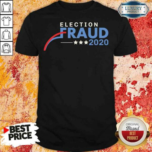 Hot Fraud 2020 Trump Biden Election Results Voter Fraud 2020 Shirt-Design By Soyatees.com