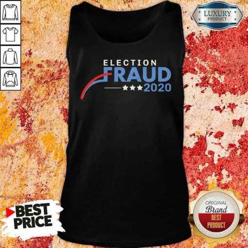 Hot Fraud 2020 Trump Biden Election Results Voter Fraud 2020 Tank Top-Design By Soyatees.com