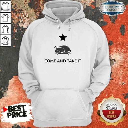 Hot Gonzales Texas Come And Take It Thanksgiving Hoodie-Design By Soyatees.com