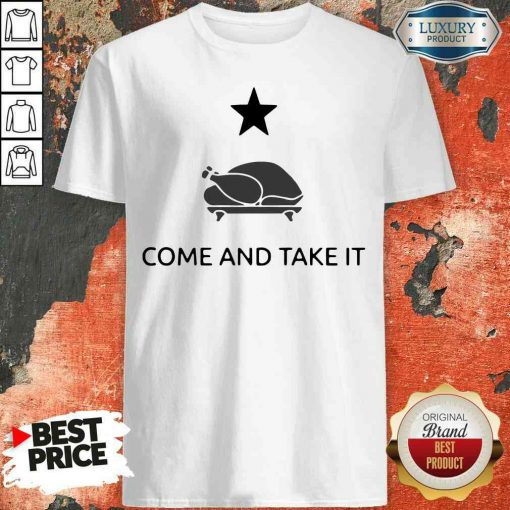 Hot Gonzales Texas Come And Take It Thanksgiving Shirt-Design By Soyatees.com