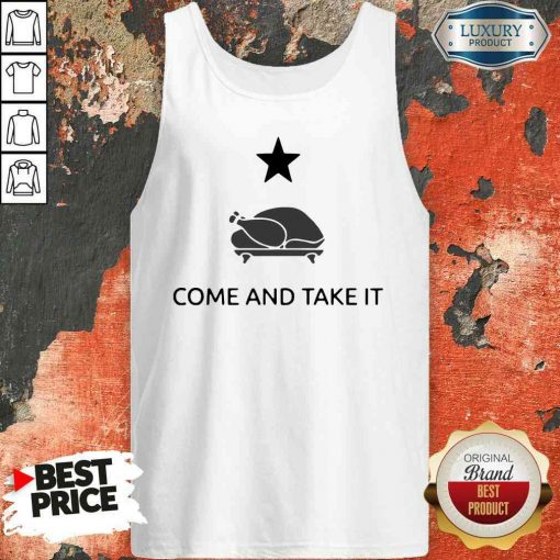 Hot Gonzales Texas Come And Take It Thanksgiving Tank Top-Design By Soyatees.com