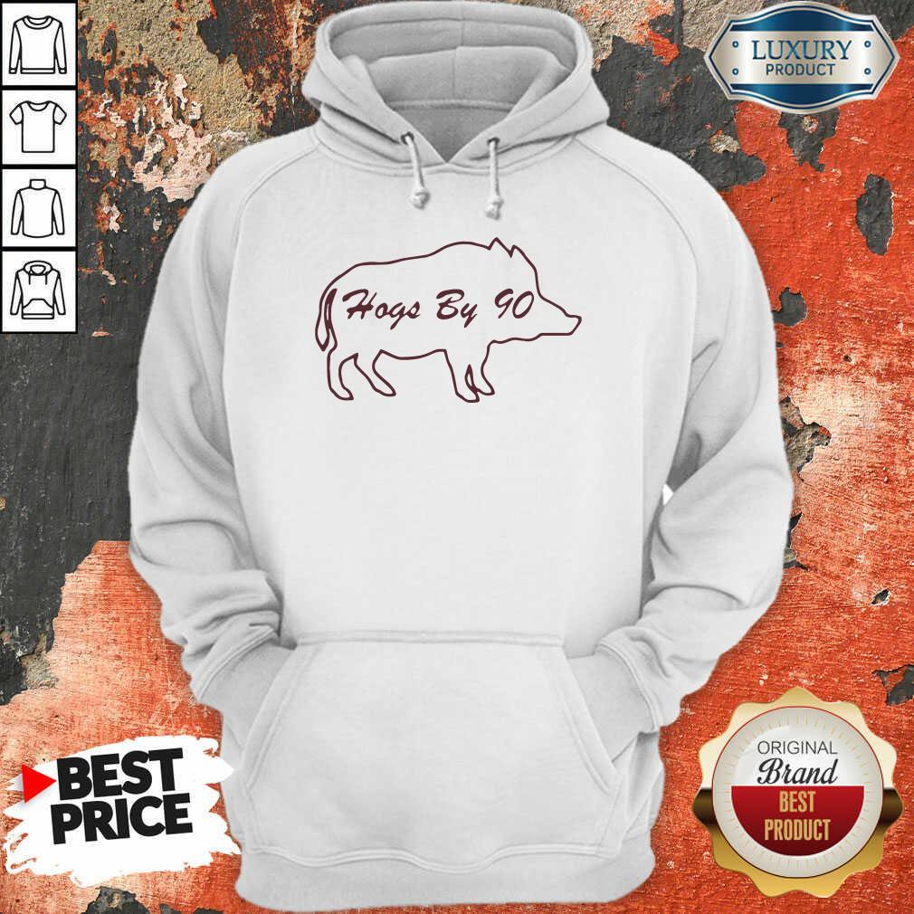 Hogs By 90 Hoodie-Design By Soyatees.com