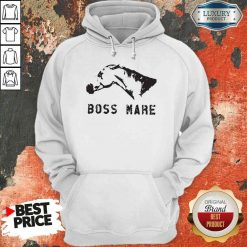 Hot Horse Boss Mare Hoodie-Design By Soyatees.com