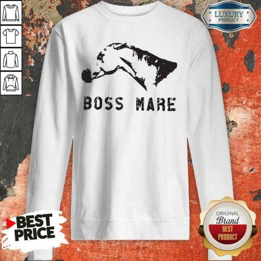 Hot Horse Boss Mare Sweatshirt-Design By Soyatees.com