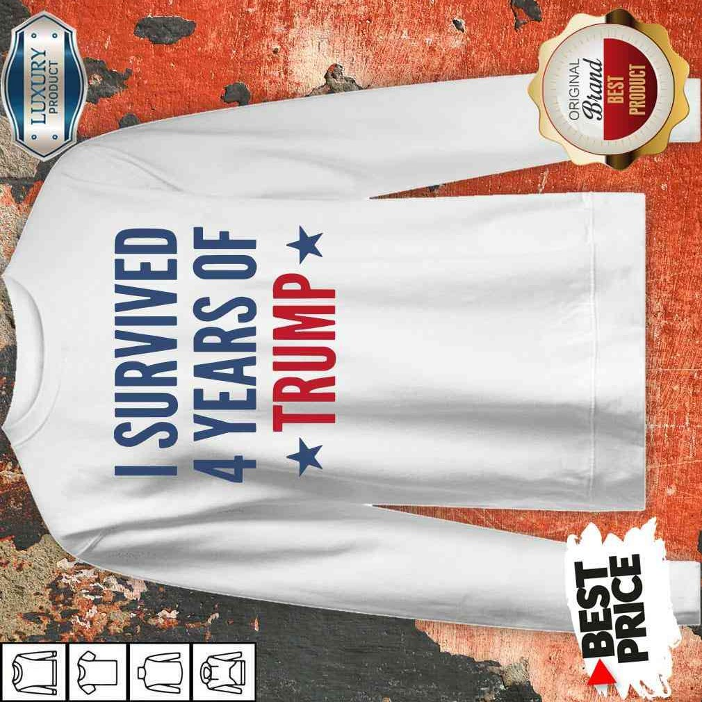 I Survived 4 Years Of Trump Sweatshirt-Design By Soyatees.com