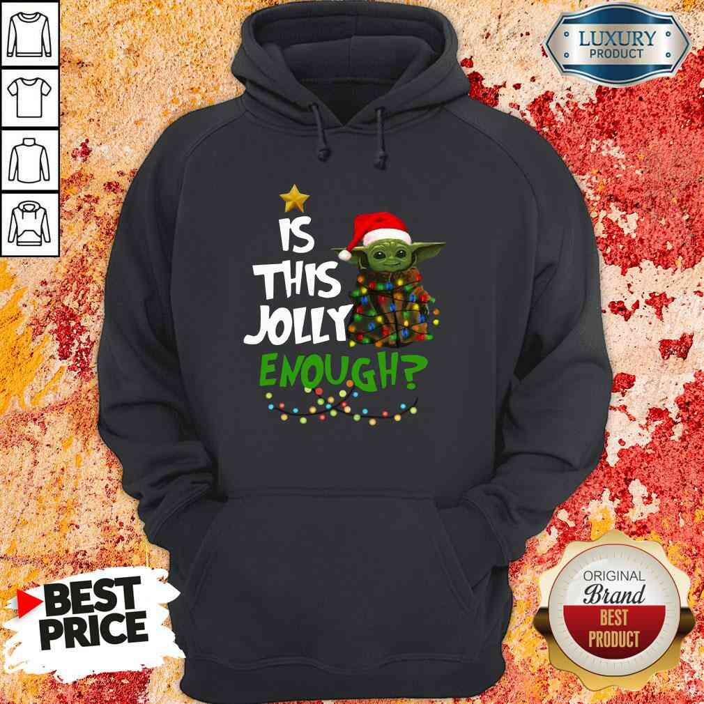 Hot Is This Jolly Enough Hoodie-Design By Soyatees.com
