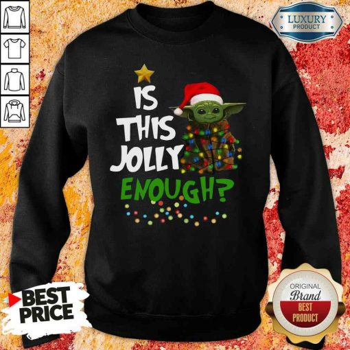 Hot Is This Jolly Enough Sweatshirt-Design By Soyatees.com