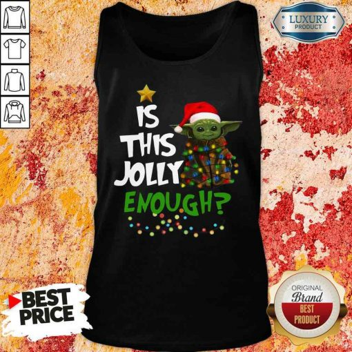 Hot Is This Jolly Enough Tank Top-Design By Soyatees.com