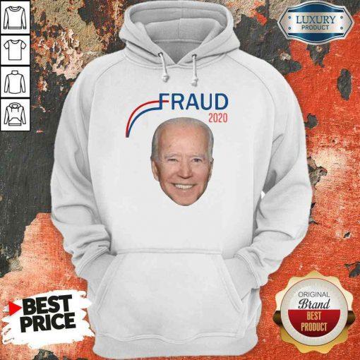 Hot Joe Biden Fraud 2020 Hoodie-Design By Soyatees.com